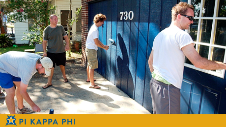Pi Kappa Phi's NSU chapter house receives facelift