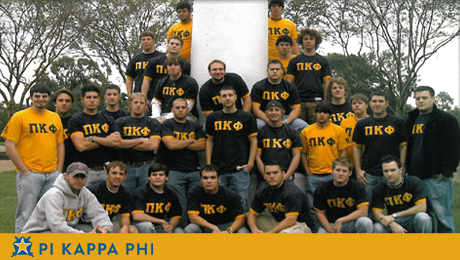 11 initiates welcomed into Pi Kappa Phi at NSU