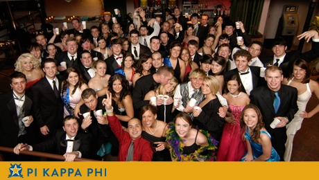 Pi Kappa Phi's Rose Ball formal held in New Orleans