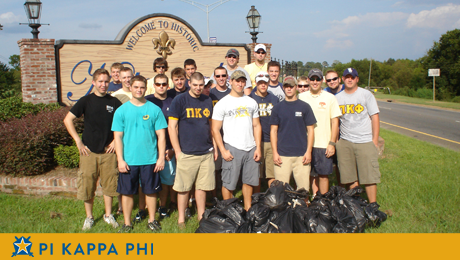 Pi Kapp trash bash a clean sweep for Natchitoches