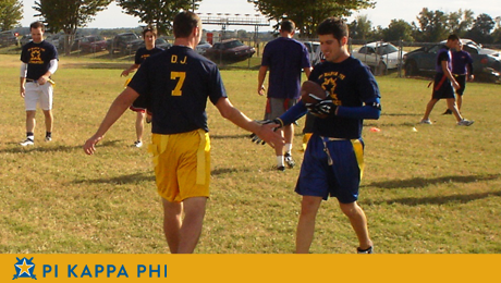 Beta Omicron chapter intramurals off to strong start