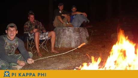 NSU Pi Kapps build brotherhood at Fall campout