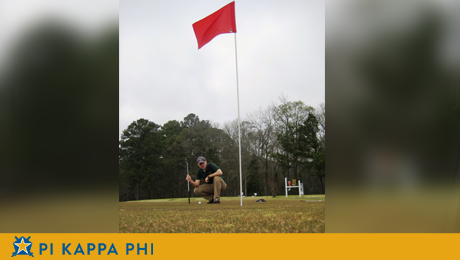Hole in one for Pi Kappa Phi's annual golf tournament
