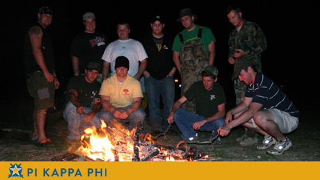 Beta Omicron chapter brotherhood retreat heads to Kisatchie National Forest