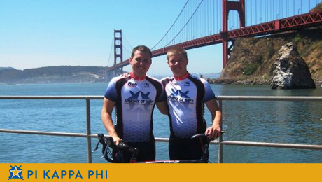 NSU Pi Kapps ride across the country for people with disabilities
