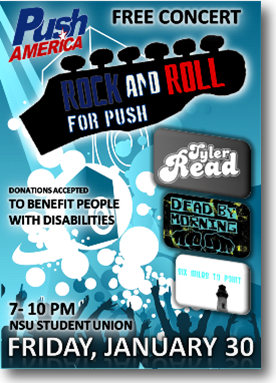 NSU rock and rolls for Push America