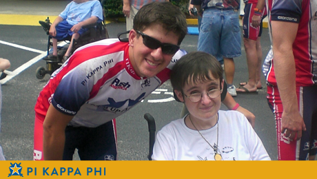 NSU Pi Kapp cycles across Florida to raise disability awareness