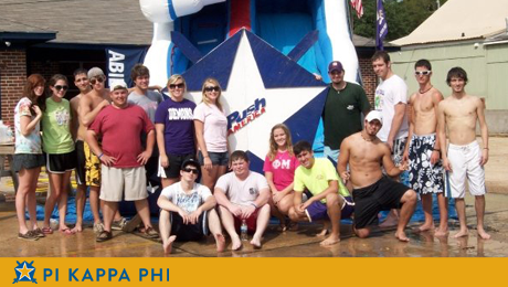 Pi Kappa Phi fall recruitment focuses on leadership, service