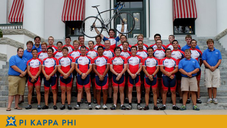 NSU Pi Kapps change lives by pedaling across Florida