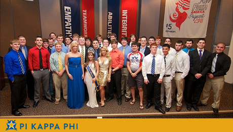 Pi Kappa Phi hosts pageant to raise funds and awareness to benefit people with disabilities