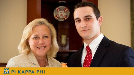 Internship takes Pi Kappa Phi member to Senator's office on Capitol Hill