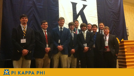 Mid Year Leadership Conference prepares Pi Kapps to become the 'next man'