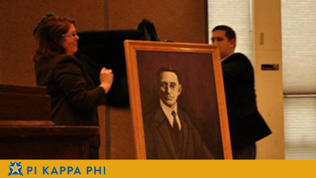 Alumnus paints portrait of legendary NSU president to be displayed on campus
