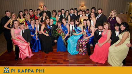 Big Easy serves as colorful backdrop for annual Pi Kappa Phi Rose Ball formal