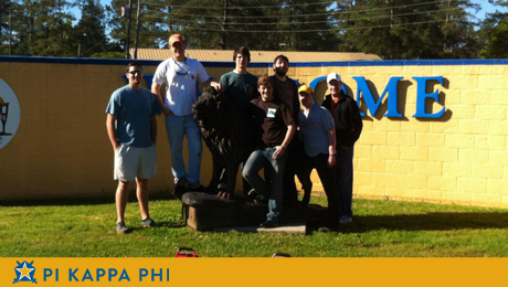 Pi Kappa Phi members transform summer camp serving people with disabilities