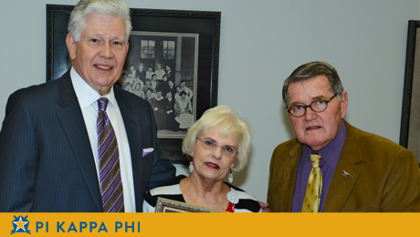 Pi Kappa Phi alumnus awarded NSU's highest honor