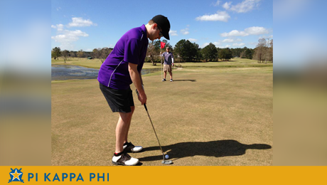 Successful turnout for Pi Kappa Phi's annual golf tournament