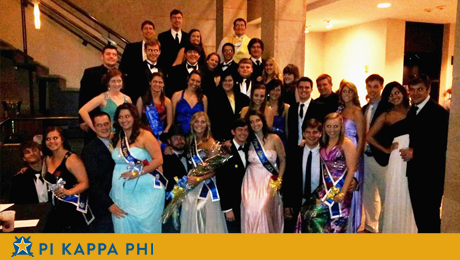 Swanky New Orleans museum hosts Pi Kappa Phi's annual Rose Ball formal