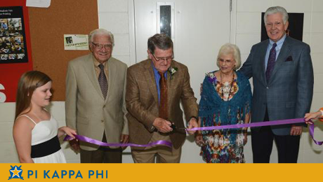 NSU names photo studio in honor of Pi Kappa Phi Fraternity alumnus