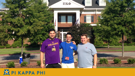 Pi Kappa Phi member participates in highly-selective leadership institute