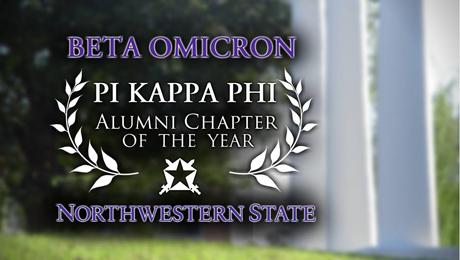 Beta Omicron named Pi Kappa Phi 'alumni chapter of the year'