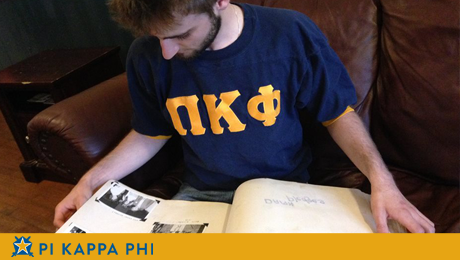 Lost 1970s scrapbook provides new look at Pi Kappa Phi history