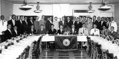 Page Image- Pi Kappa Phi Fraternity chartering banquet (1956)