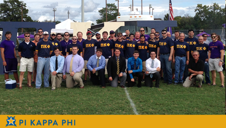 Success of Pi Kappa Phi students, alumni highlight exciting NSU Homecoming