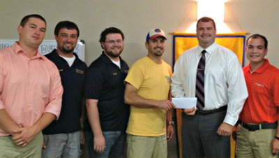 Beta Omicron chapter alum assumes leadership of Natchitoches Jaycees 02