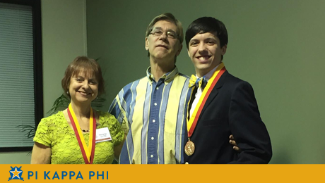 Pi Kappa Phi member named to international scholars honor society