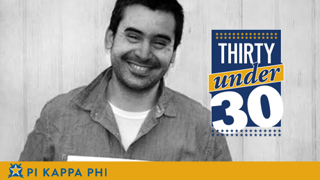 NSU alumnus named to Pi Kappa Phi's prestigious 'Thirty Under 30' list