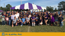 NSU Homecoming draws dozens of Pi Kappa Phi alumni, families for memorable weekend