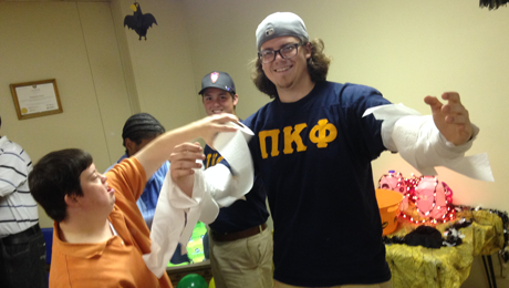 Pi Kappa Phi, Natchitoches ARC team up for Halloween carnival 2