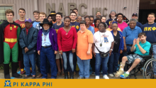 Pi Kappa Phi, Natchitoches ARC team up for Halloween carnival