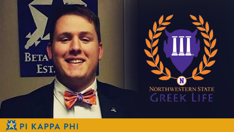 Pi Kappa Phi member elected NSU Interfraternity Council president
