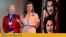 Two NSU Pi Kappa Phi sweethearts featured in National WWII Museum documentary
