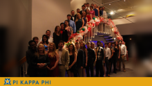 Beta Omicron chapter commemorates Pi Kappa Phi's national founding with banquet