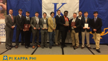 NSU student leaders return from Pi Kapp College with renewed purpose, top honors