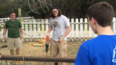Pi Kapps provide weekend of service at Texas camp for individuals with special needs 2