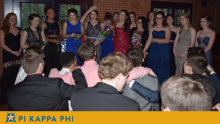 Beta Omicron Chapter accomplishments, traditions celebrated at Rose Ball formal