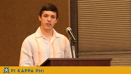 Recent NSU graduate hired as Pi Kappa Phi leadership consultant