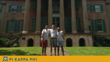 Three NSU Pi Kappa Phi members selected for emerging leaders institute