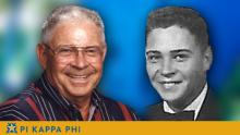 Member of Beta Omicron Chapter Founders Generation Group passes to chapter eternal (Little)