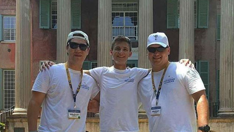 Three NSU Pi Kappa Phi members selected for emerging leaders institute 2