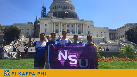 NSU Pi Kapps cycle across America, change lives on 'Journey of Hope'