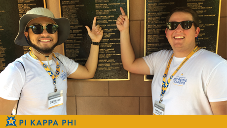 NSU students recognized among top one percent of Pi Kappa Phi members nationally
