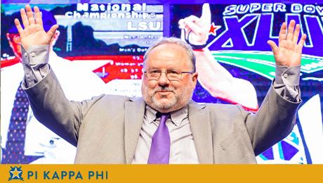 Pi Kappa Phi alumnus Doug Ireland inducted into Louisiana Sports Hall of Fame