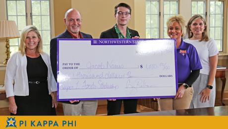 Pi Kappa Phi member awarded Focus on the Future scholarship